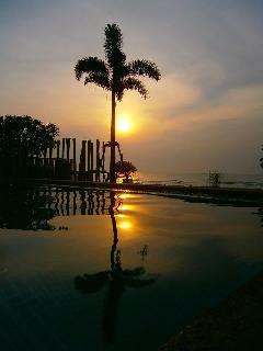 This is how the villa got its name- magical sunrises