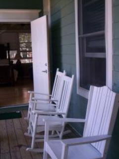 Rocking chairs for lazy evenings