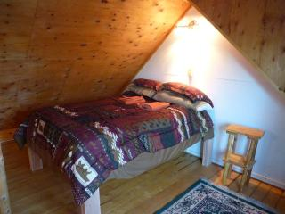 Queen Bed in the Loft
