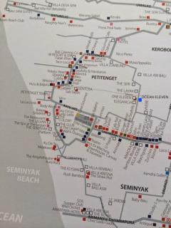 Ocean Eleven Map Location