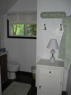 Lower left room bathroom