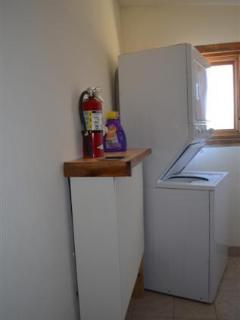 laundry/utility room, heat is radiant heat