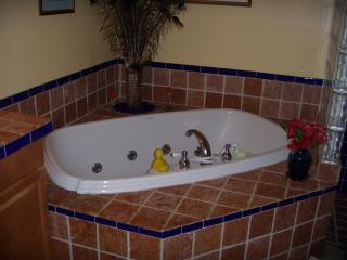Jacuzzi Tub in Charming Bungalow