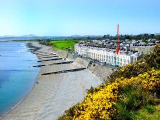 SEASIDE family-friendly, next to beach and castle in Criccieth Ref 912814