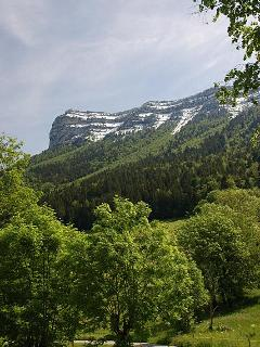 Mont Pinet from behind La Grange
