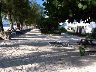 Shaded Galleon Beach awaits our guests