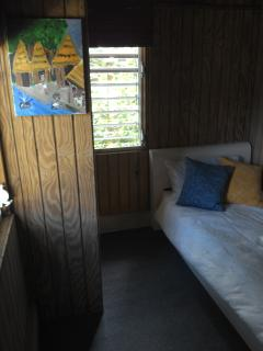 Fourth room, twin bed, amazing Toro Negro State Forest view.