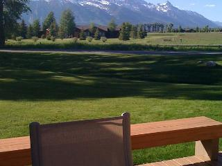 Enjoy Grand Teton Views at this Golf Creek Ranch condo!