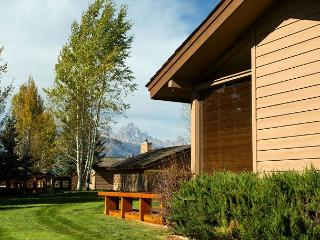 Close to Grand Teton National Park! Quiet Golf Creek Ranch condo