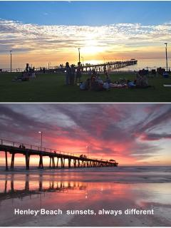 Henley Square: 400m from the house. Great spot for an evening meal on the grass.