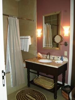 Apartment, en suite Guest Bathroom