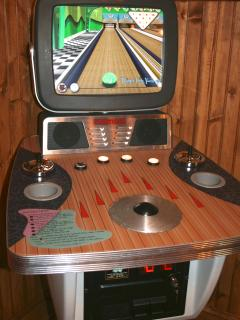 Bowling video game