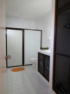 upstairs complete bathroom