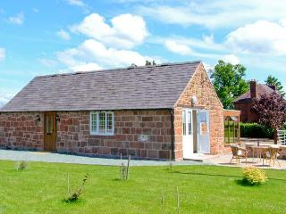 BYRE COTTAGE, detached, stone-built barn conversion, single-storey, sun room, gardens, walks, in Nesscliffe, Ref 906694