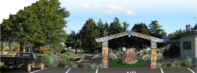 Tapaweras Kahurangi Gateway Landmark