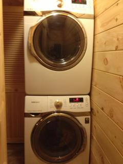 Extra Large Washer and Dryer