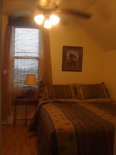 2nd Floor Western Bedroom with a Queen Sz Bed