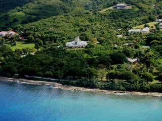 Serene Beachside Villa Built Around Historic Mill, Frederiksted