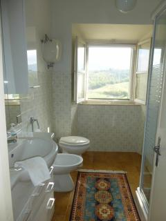 Bathroom with a view!