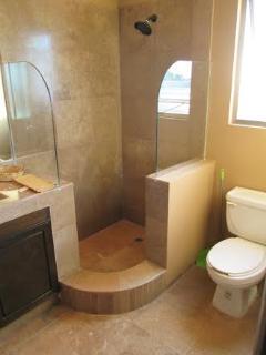 Upstairs - Bathroom - Living Room Area