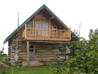 Alaskan Log Home on the Bluff of the Cook Inlet!!!, Ninilchik