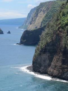 Pololu Valley--just ten minutes drive from the cottage
