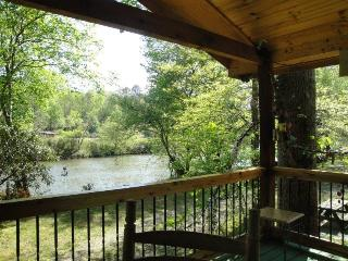 River view from porch