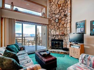 BUFFALO VILLAGE 402: 1 Bed/2 Bath+Sleeping Loft, Relaxing Space with View, Clubhouse, Elevator, WiFi, Silverthorne