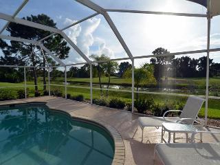 Luxury holiday villa overlooking water & fairways