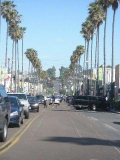 Newport Ave just several minutes walk from the rental