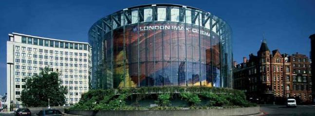BFI / IMAX Cinema 20 mins walk