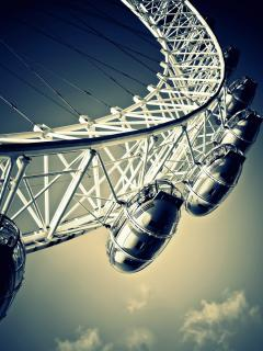 London Eye close up