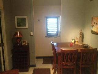 Dining Area and Apartment Entrance