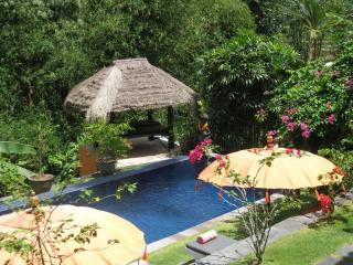 'Villa Cepaka Bed And Breakfast'. 'Bougainvillea Room'.
