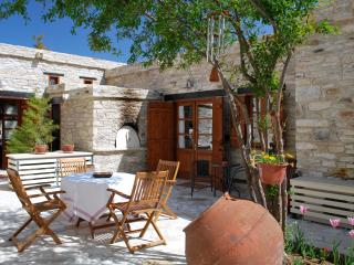 Eco Traditional Stone Village House, w/Courtyard, Vavla