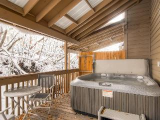 Home for 10 w/ fireplace; gourmet kitchen; walk to slopes, Park City
