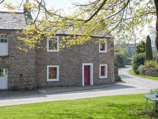 CORNER COTTAGE, stone-built, end-terrace, character features, woodburner, enclosed lawned garden, in Great Strickland, Ref 905605, Penrith