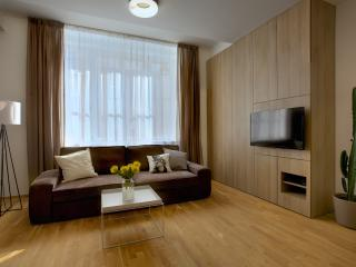 Two-Bedroom Design Apartment - sofa bed