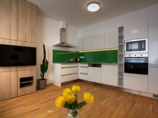 Two-Bedroom Design Apartment - kitchen corner