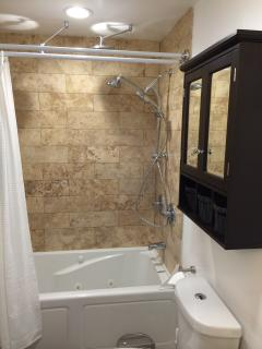 Bathroom with Jetted Tub!