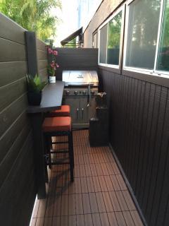 Private Patio & BBQ