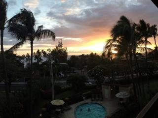 Relax after a fun-filled day with a sunset view from our lanai. Drinks anyone?