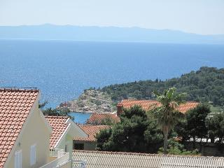 Apartment Pivac with sea view for 2