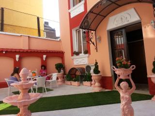 Orange flower 1 - Top center of Sofia, Sofía