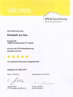 Award from the German Tourism Association