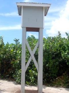 Largest bat house in Cayman Islands (Mosquito control!)