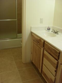 Bottom floor bathrom