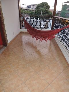 2nd floor Veranda and hammock