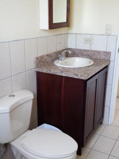 Two complete bathrooms with shower, towels, soap, shampoo and conditioner includes
