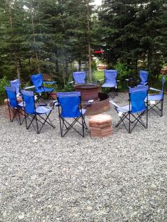 Caribou Crossing Cabins Lodge Fire Pit